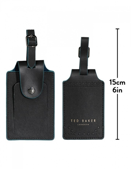 Ted Baker Luggage Tags size