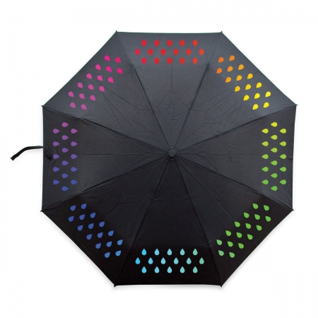 Colours of Colour Changing Umbrella