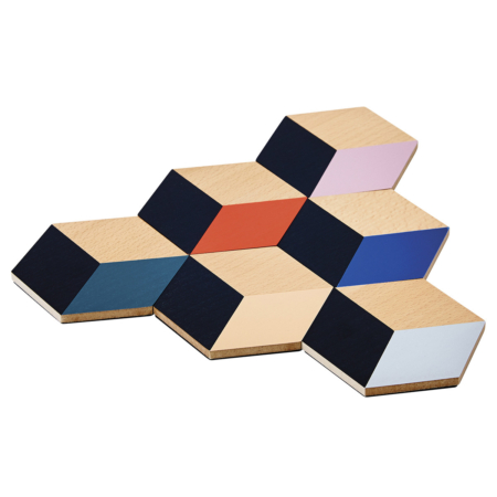Coasters - Table Tiles in a group of 6