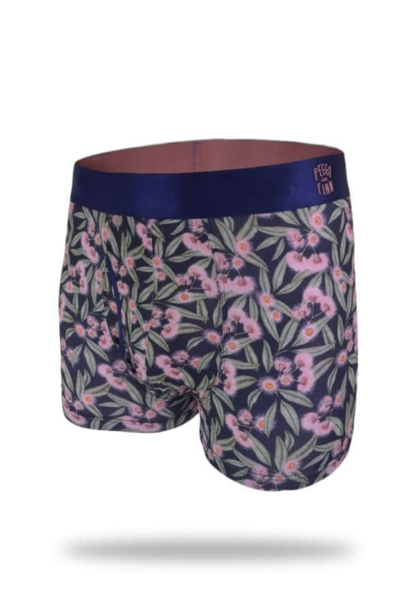 Bamboo Boxers - Flowering Gum cutout photo front