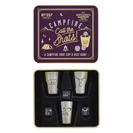 Campfire Call The Shots Cup and Dice Game