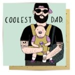 Greeting Card - Coolest Dad