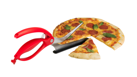 Pizza Cutter with pizza