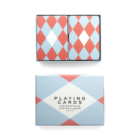 Double Playing Cards box cutout