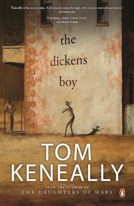 The Dickens Boy by Tom Keneally front cover
