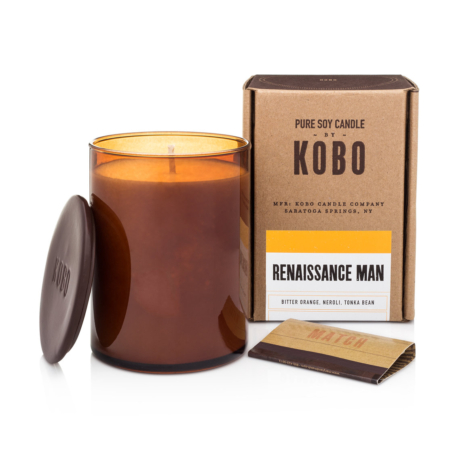 Kobo Candle - Renaissance Man out of the box