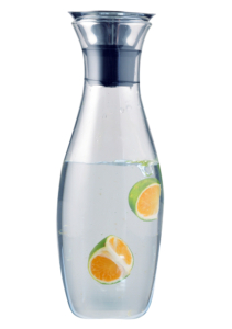 Wine Carafe/Decanter with water and fruit