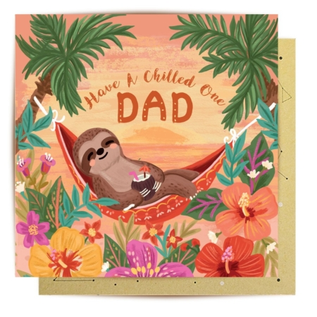 chilled dad front card