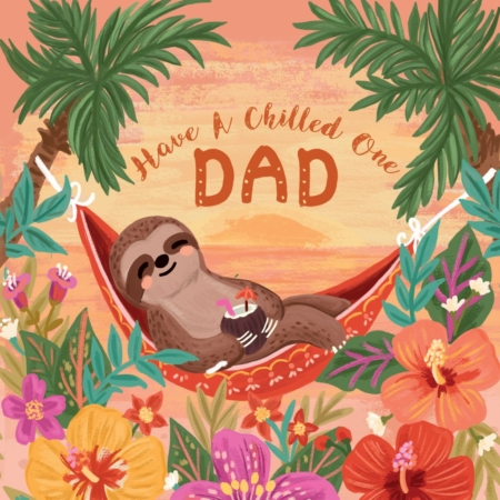 chilled dad card